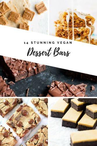14 Stunning Vegan Dessert Bars | Vegan Recipe |
