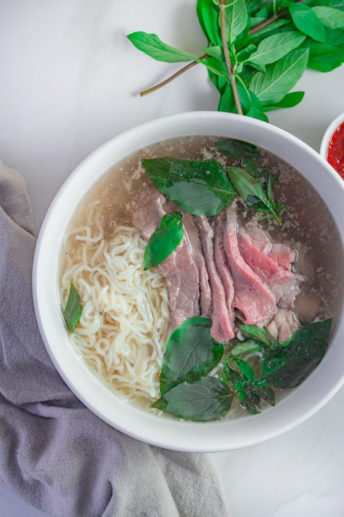 Keto Pho Vietnamese Style Noodle Soup Broke Foodies
